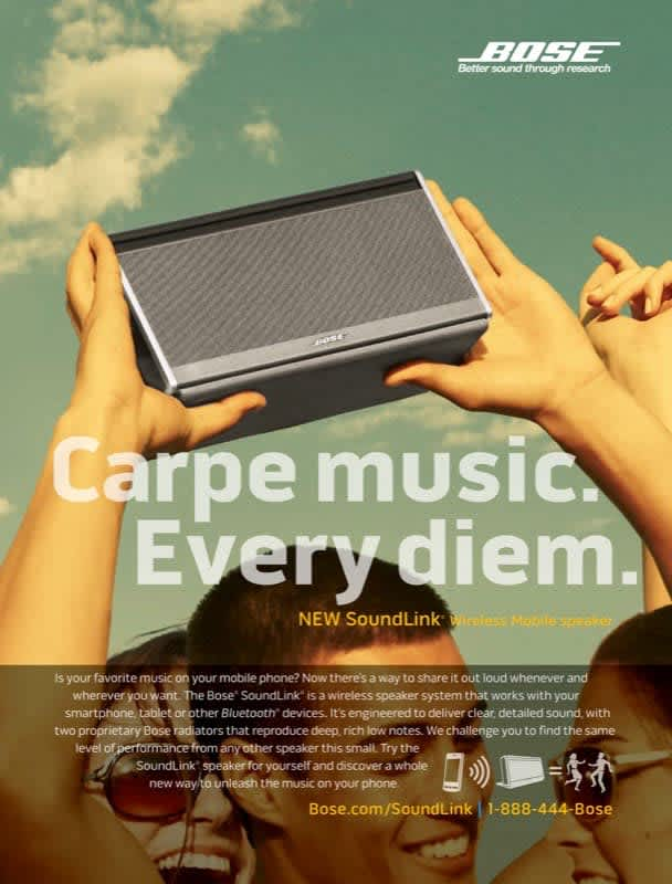 """Bose - """"Going Mobile"""""""