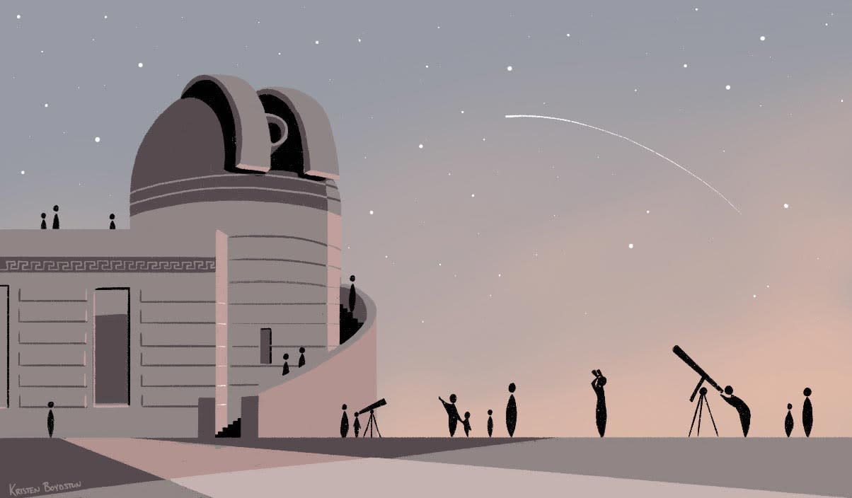 Griffith Observatory Stargazing