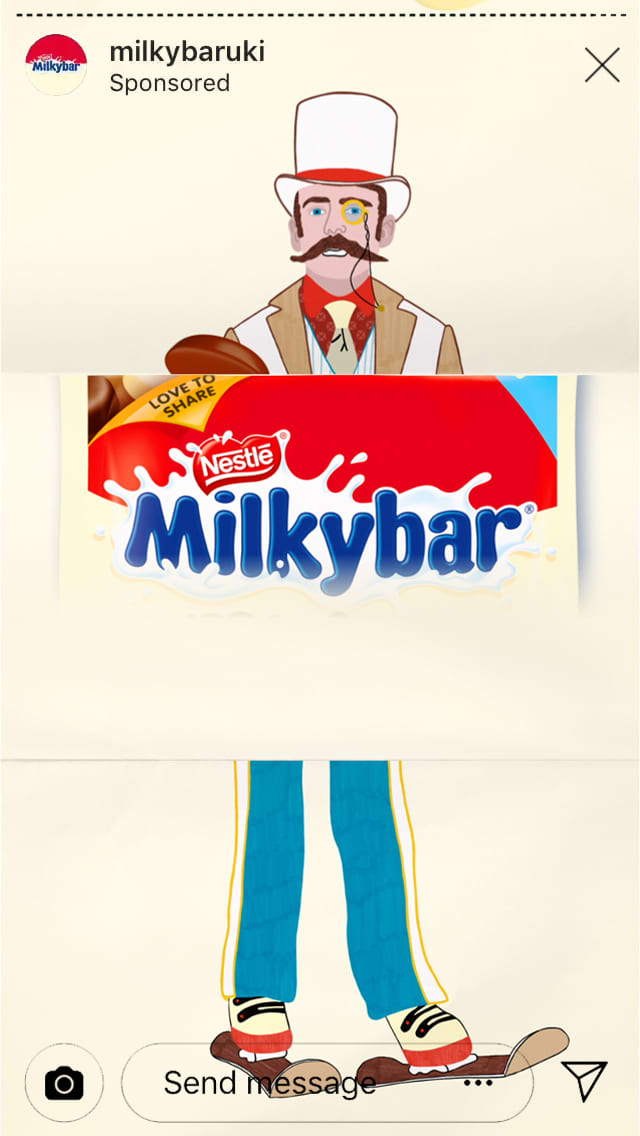 Nestle Milkybar Mix Ups