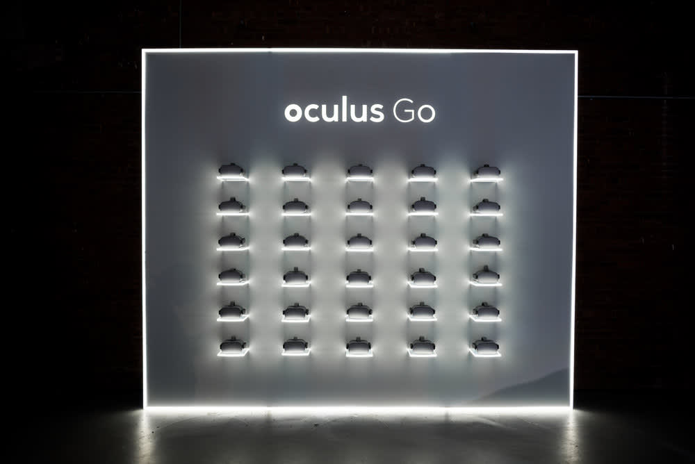 Oculus Go NYC Launch