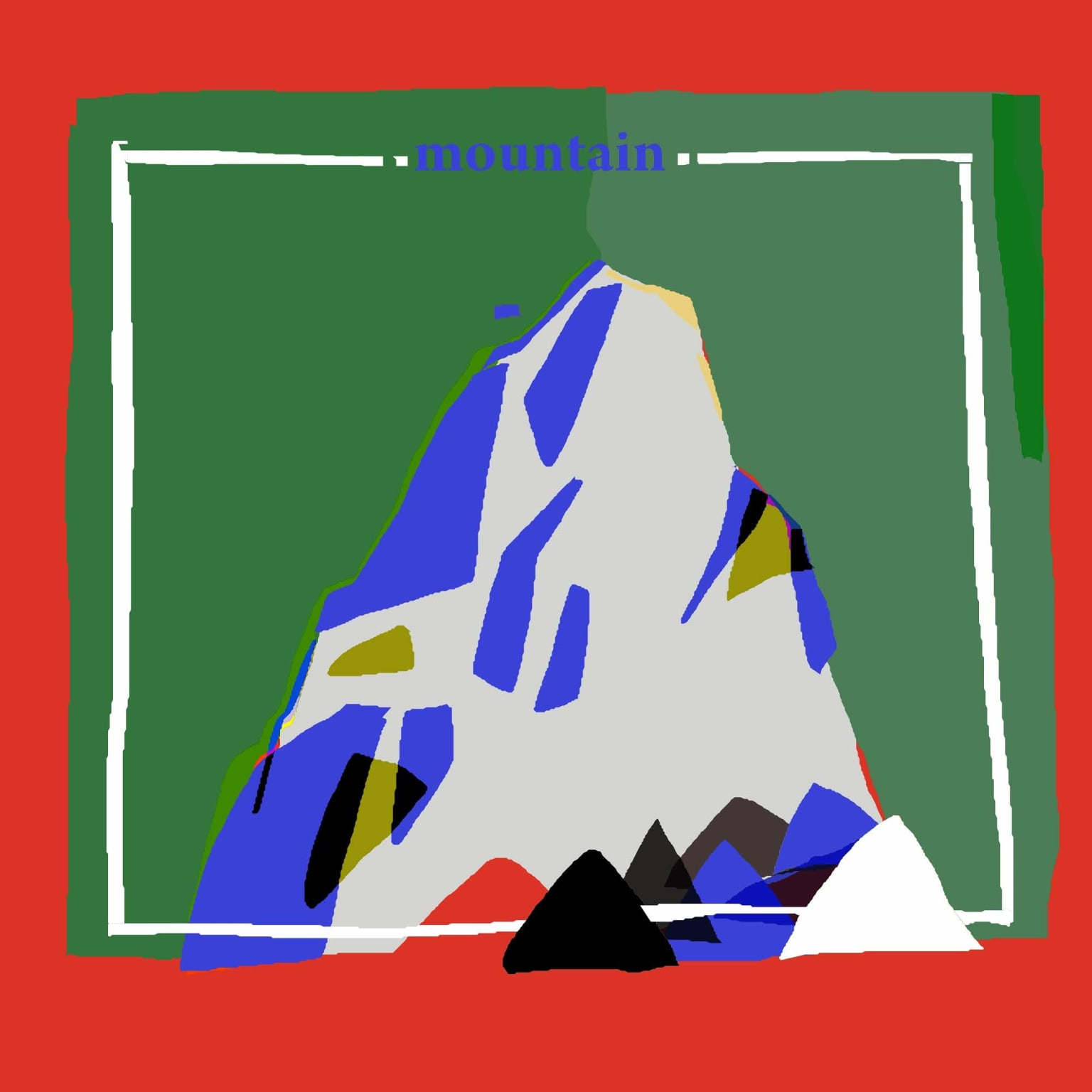 Mountains — drawings
