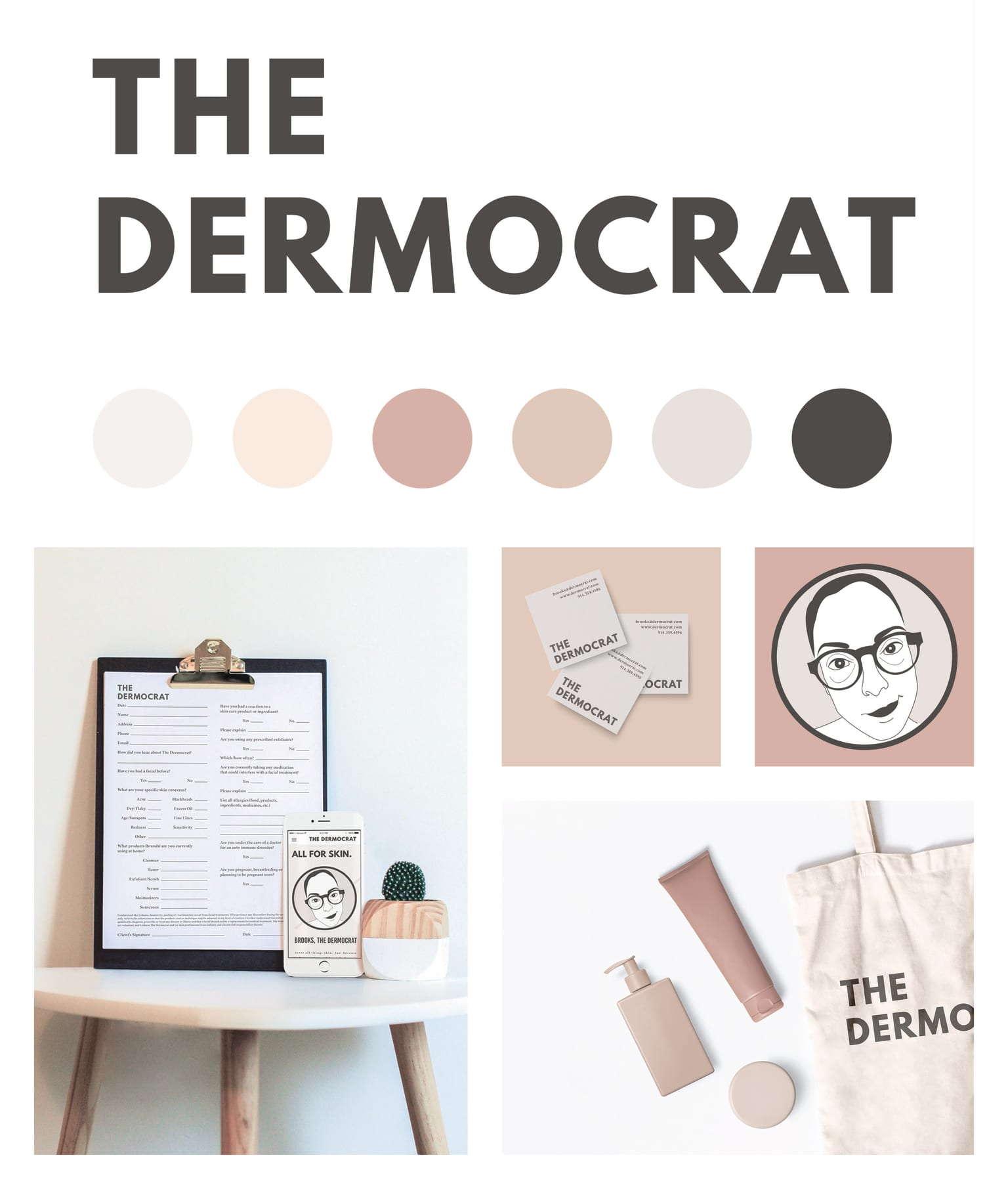 The Dermocrat Website Redesign