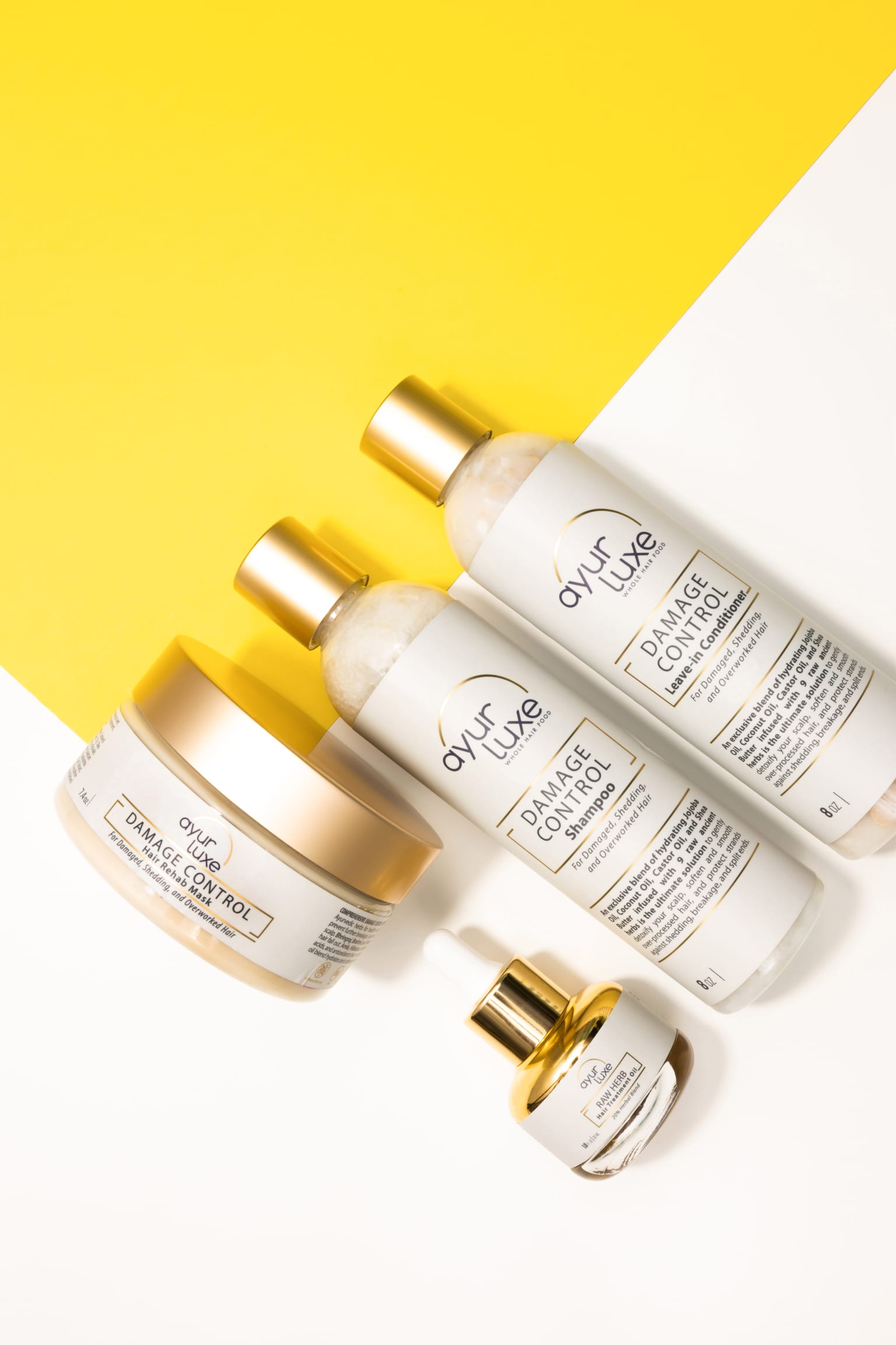 Ayur Luxe Product Photography