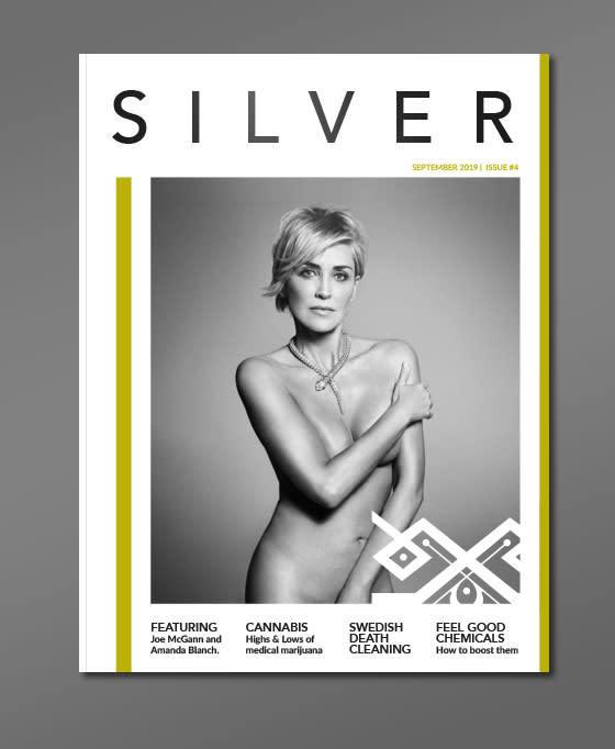 Silver Magazine covers and layout concepts