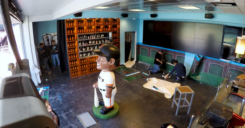 SF Giants Hall of Bobbleheads