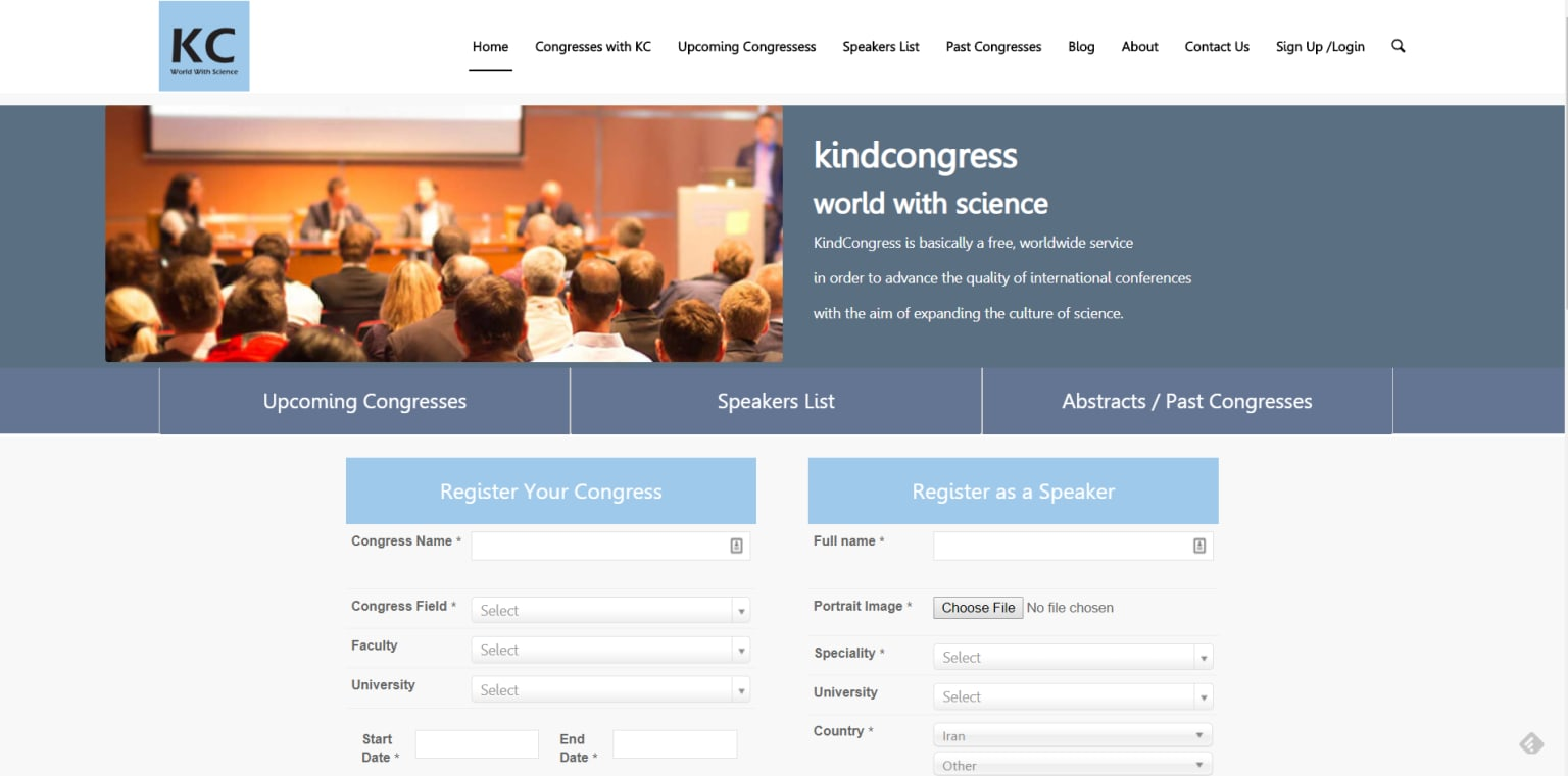 Kind Congress, speakers and conference directory