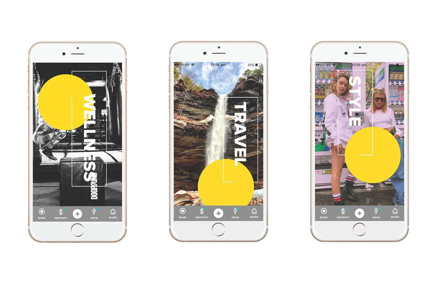 Visual Direction for The8App