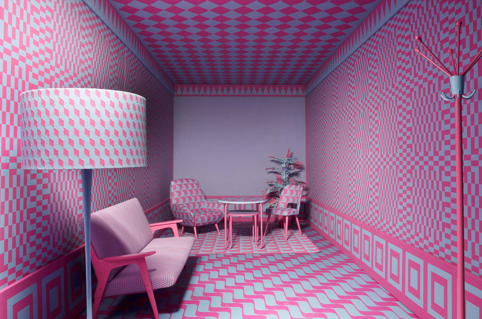 Colored room