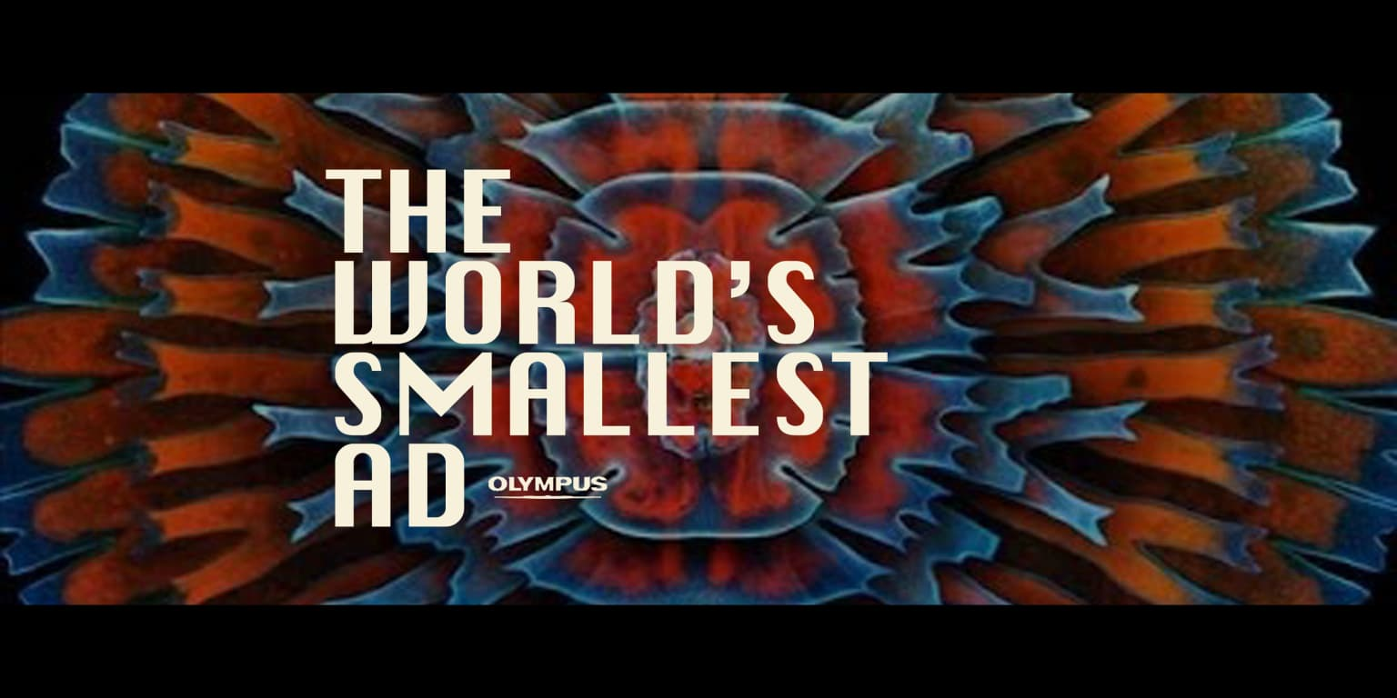 Olympus - The World's Smallest Ad