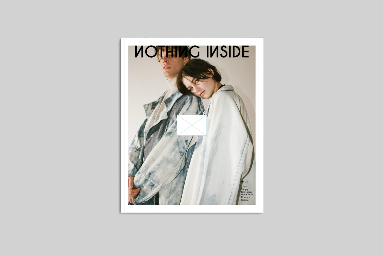 Nothing Inside #EditorialDesign