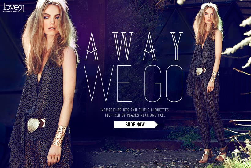 FOREVER 21 - ECOMMERCE EDITORIALS