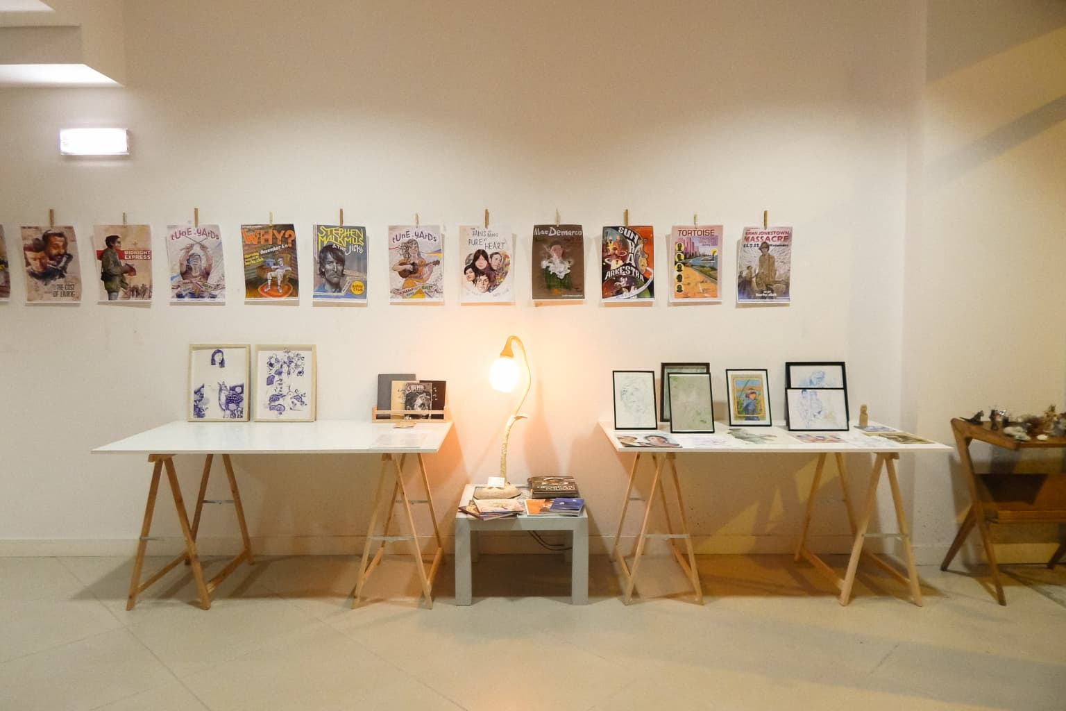 Collective exhibition of illustration