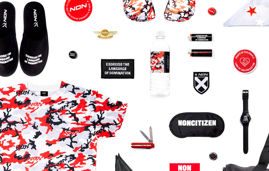 NON Duty Free Zone Pop Up Store, Red Bull Music Academy Festival 2016