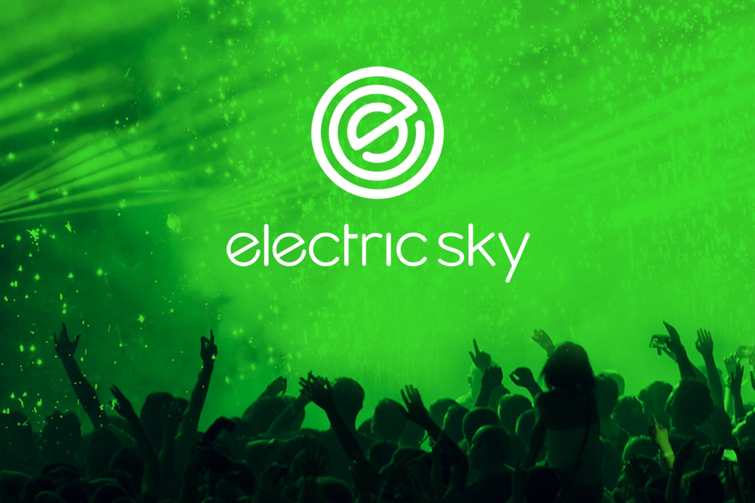 Electric Sky Wine Package and Logo