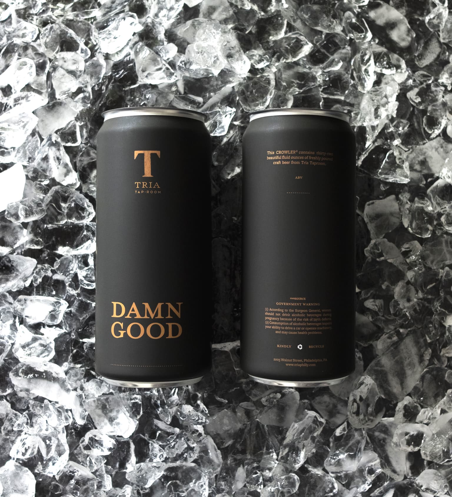 Tria Taproom Crowlers