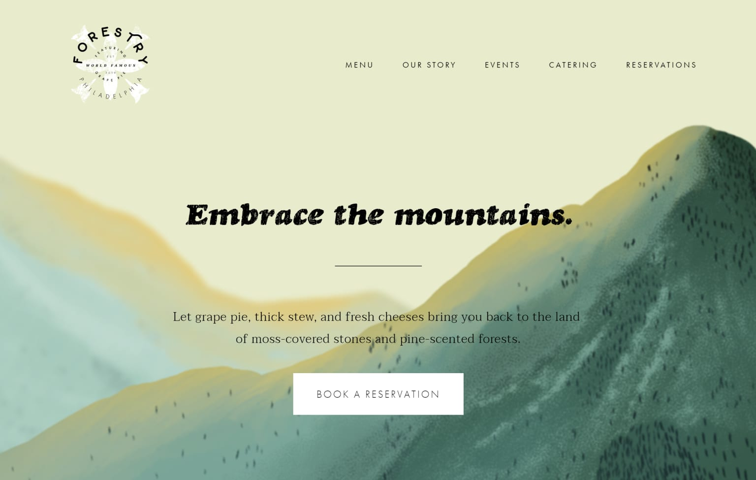 Forestry Illustrated Website