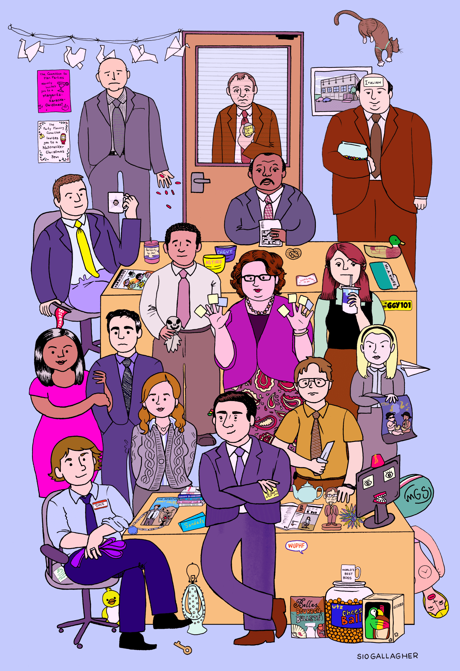 The Office poster