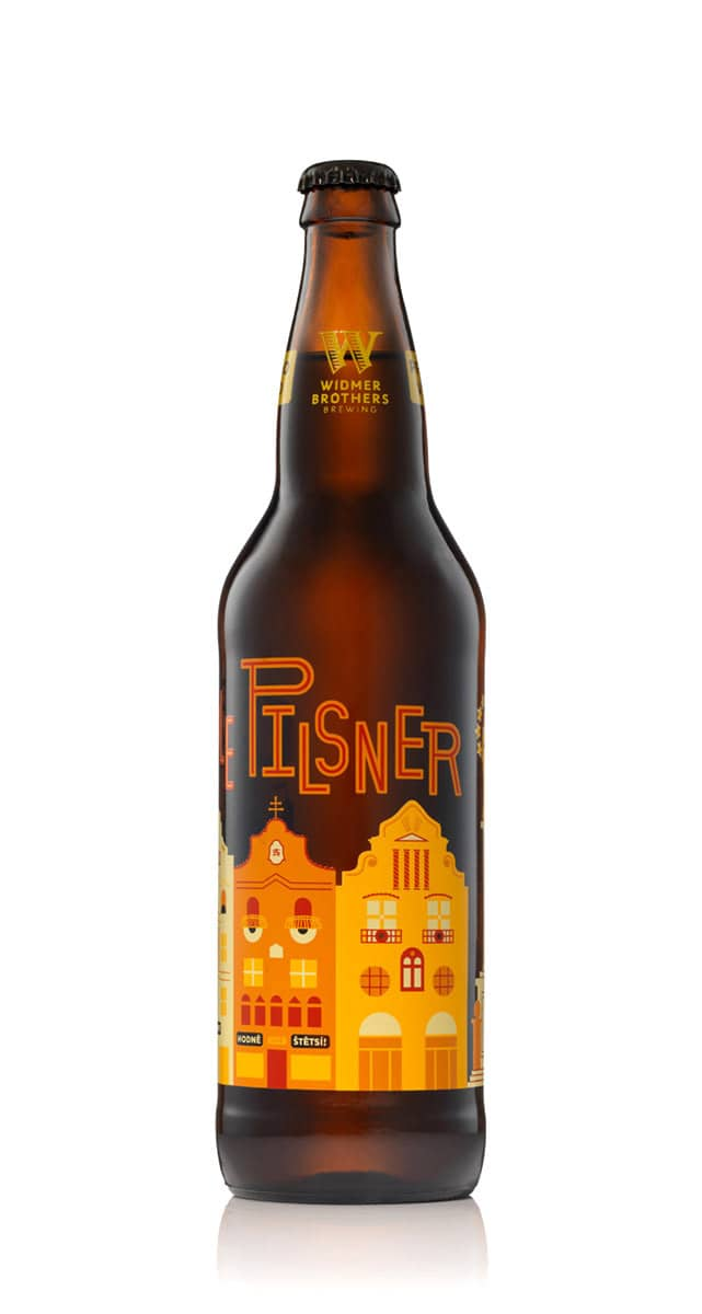 Czech Style Pilsner packaging for Widmer Brothers Brewing