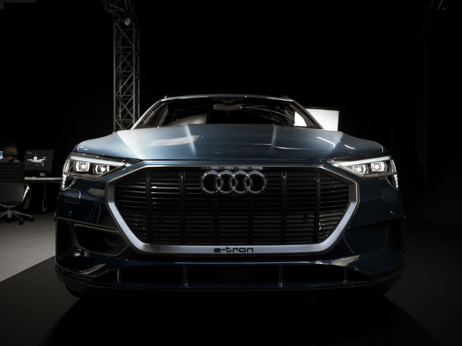 Behind the scenes - Audi e-tron