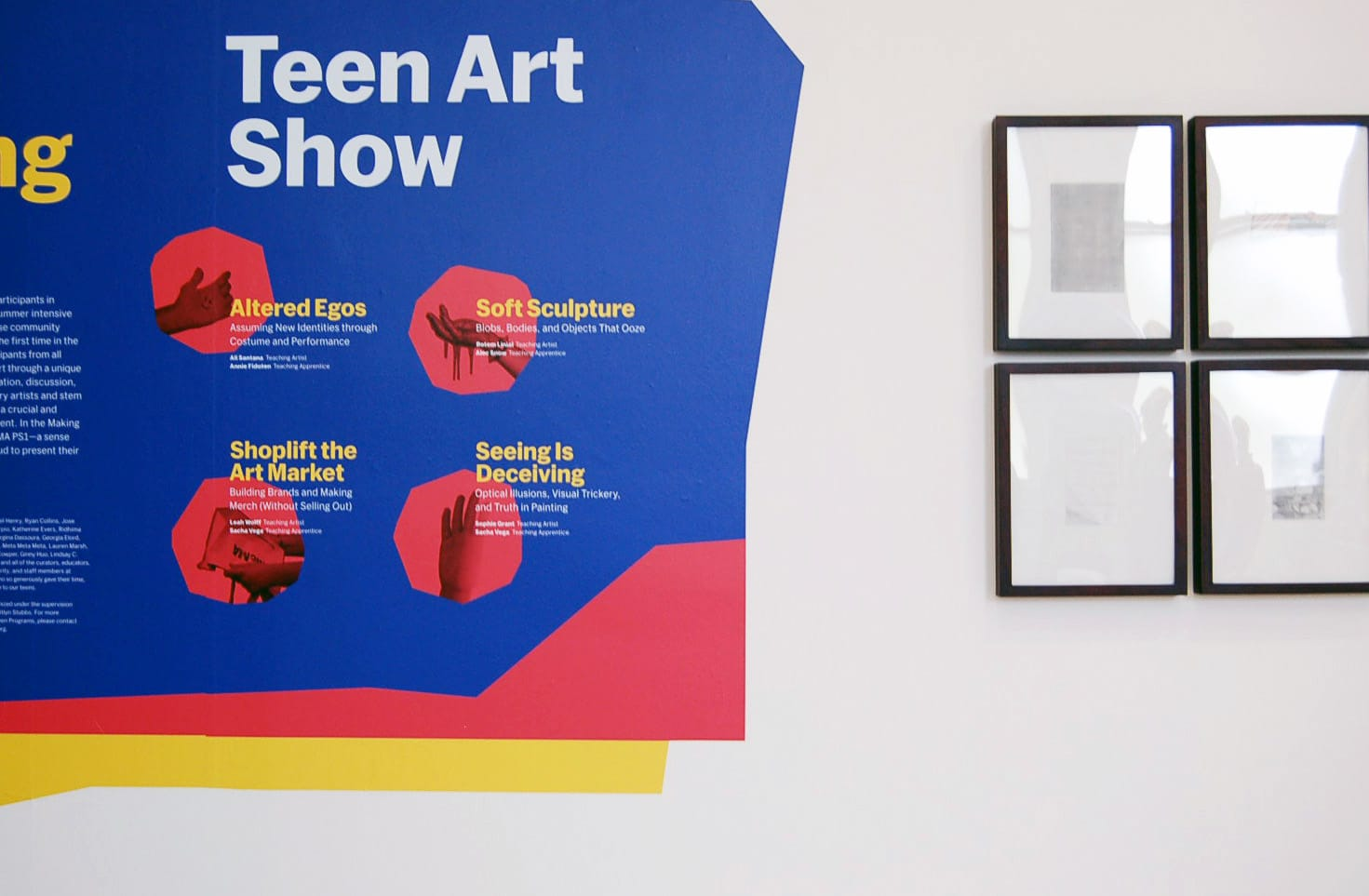 MoMA   Select Intern Projects