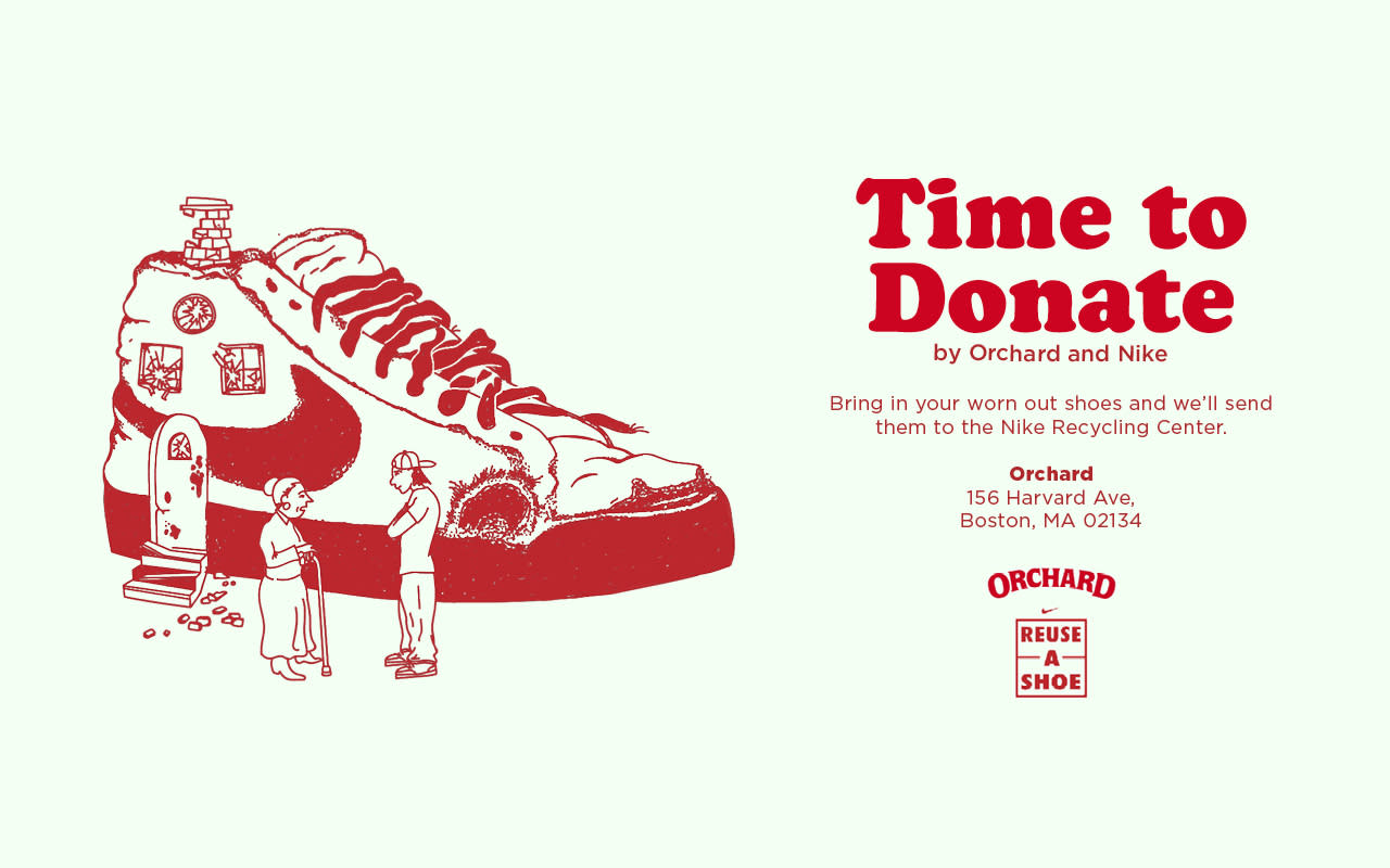 Orchard and Nike's Reuse-a-Shoe Program