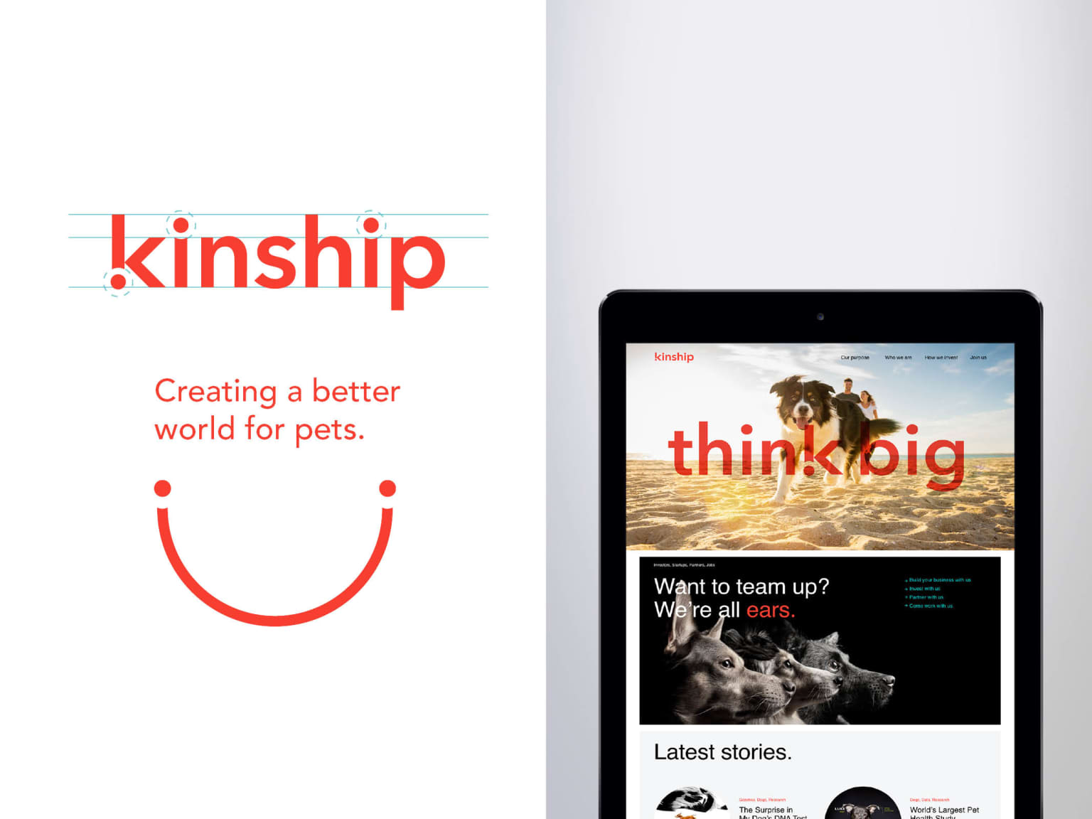 Kinship Brand System and Website