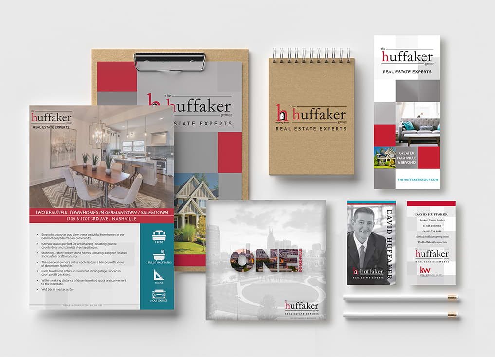 The Huffaker Group Branding and Materials