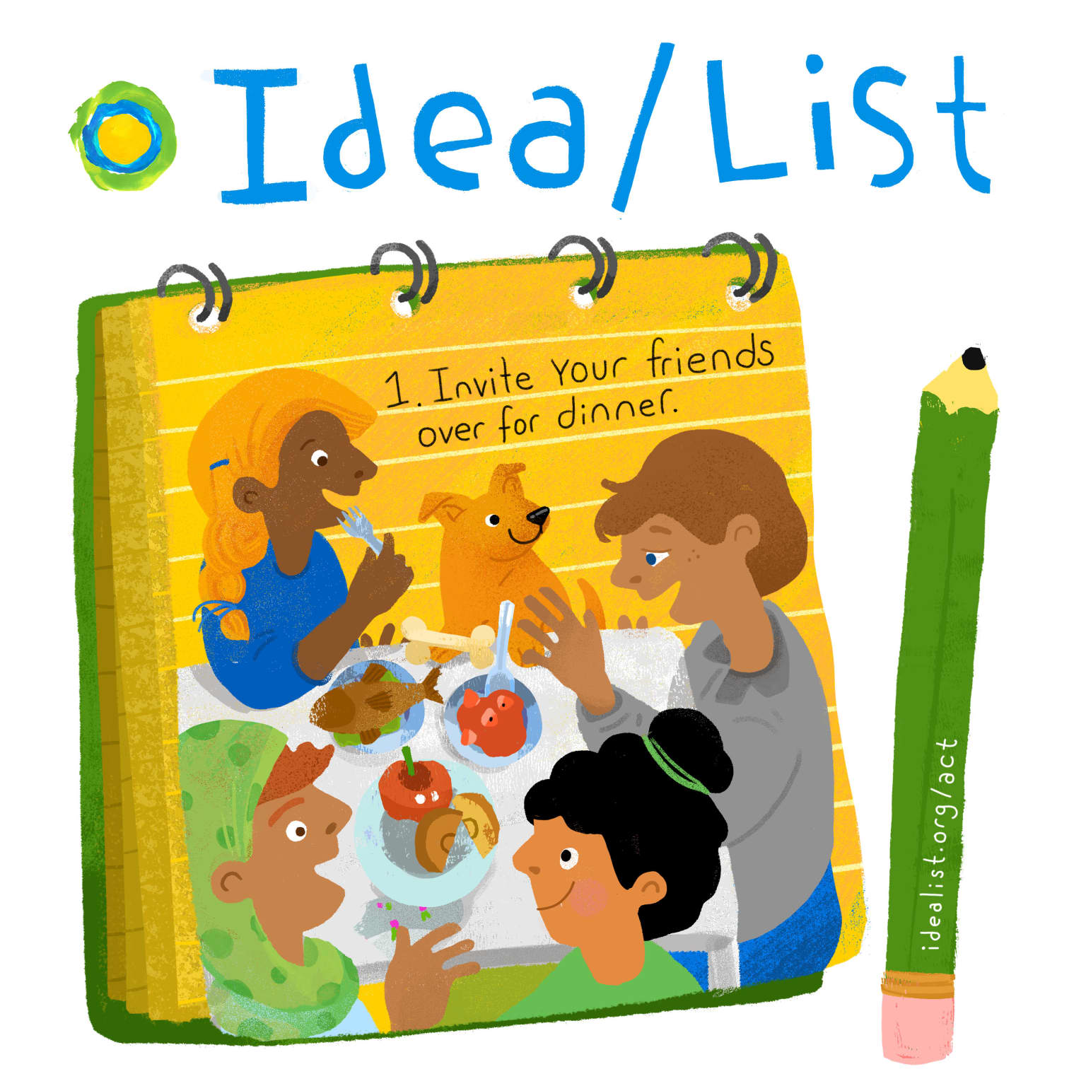 Social Content for Idealist.org