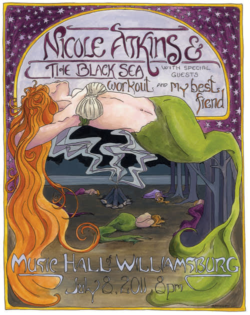 Nicole Atkins Show Posters