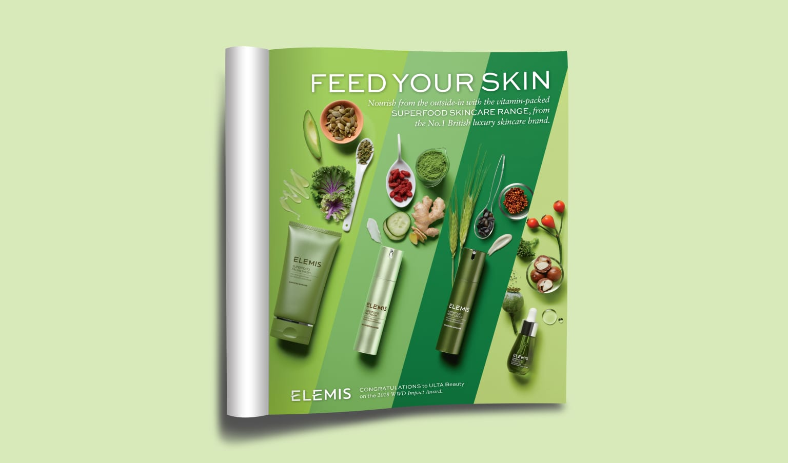 ELEMIS Superfood Campaign