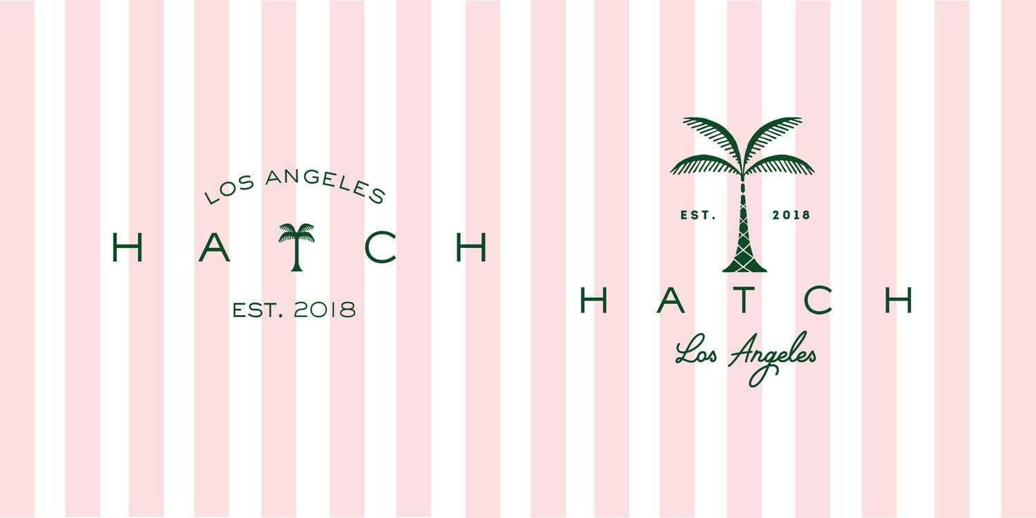 HATCH Collection Branding