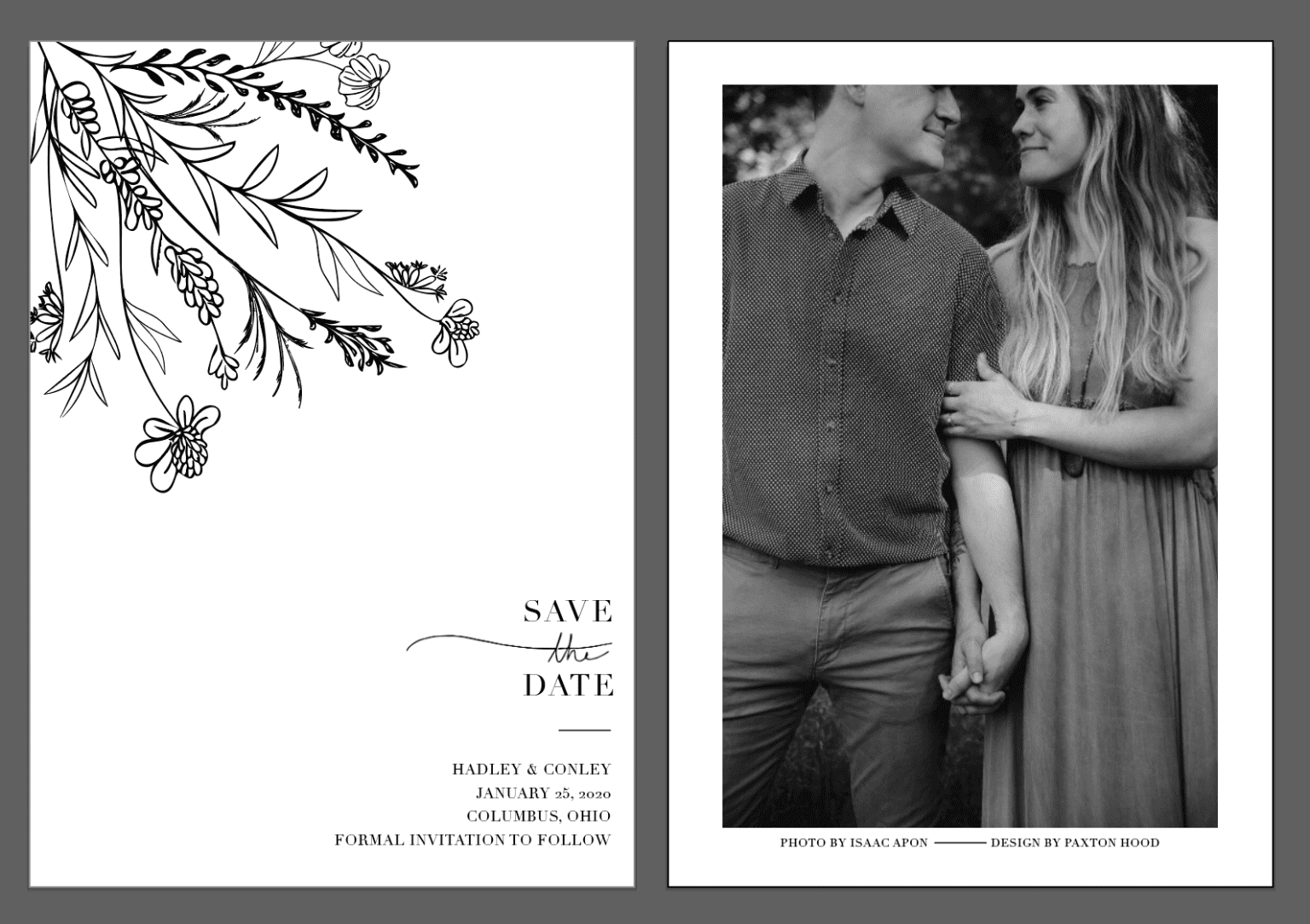 Illustrative Save the Dates