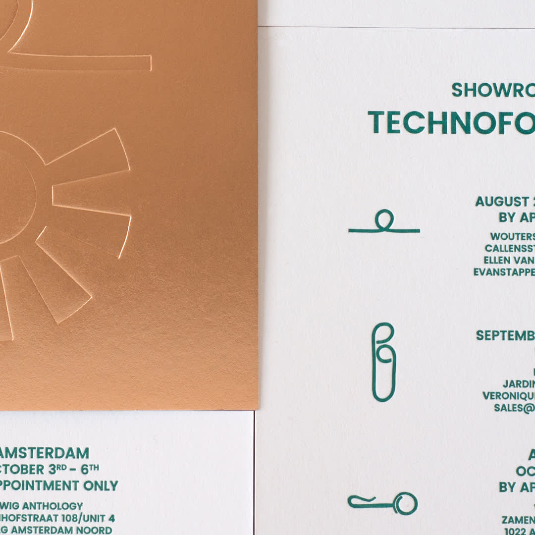 Invitation Technofossils 2.0 - Wouters & Hendrix