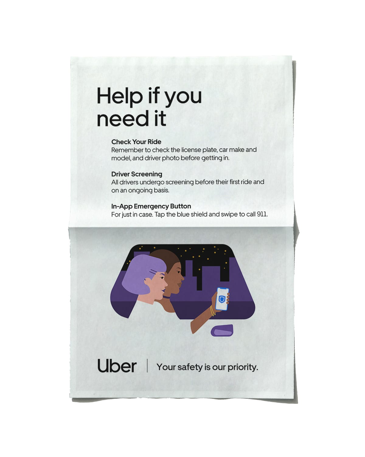 Uber Safety Campaign