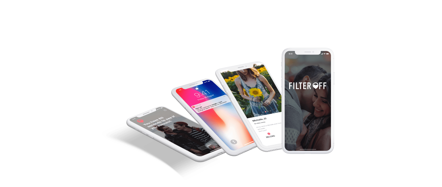 Filter Off: Live Video Chat Dating App
