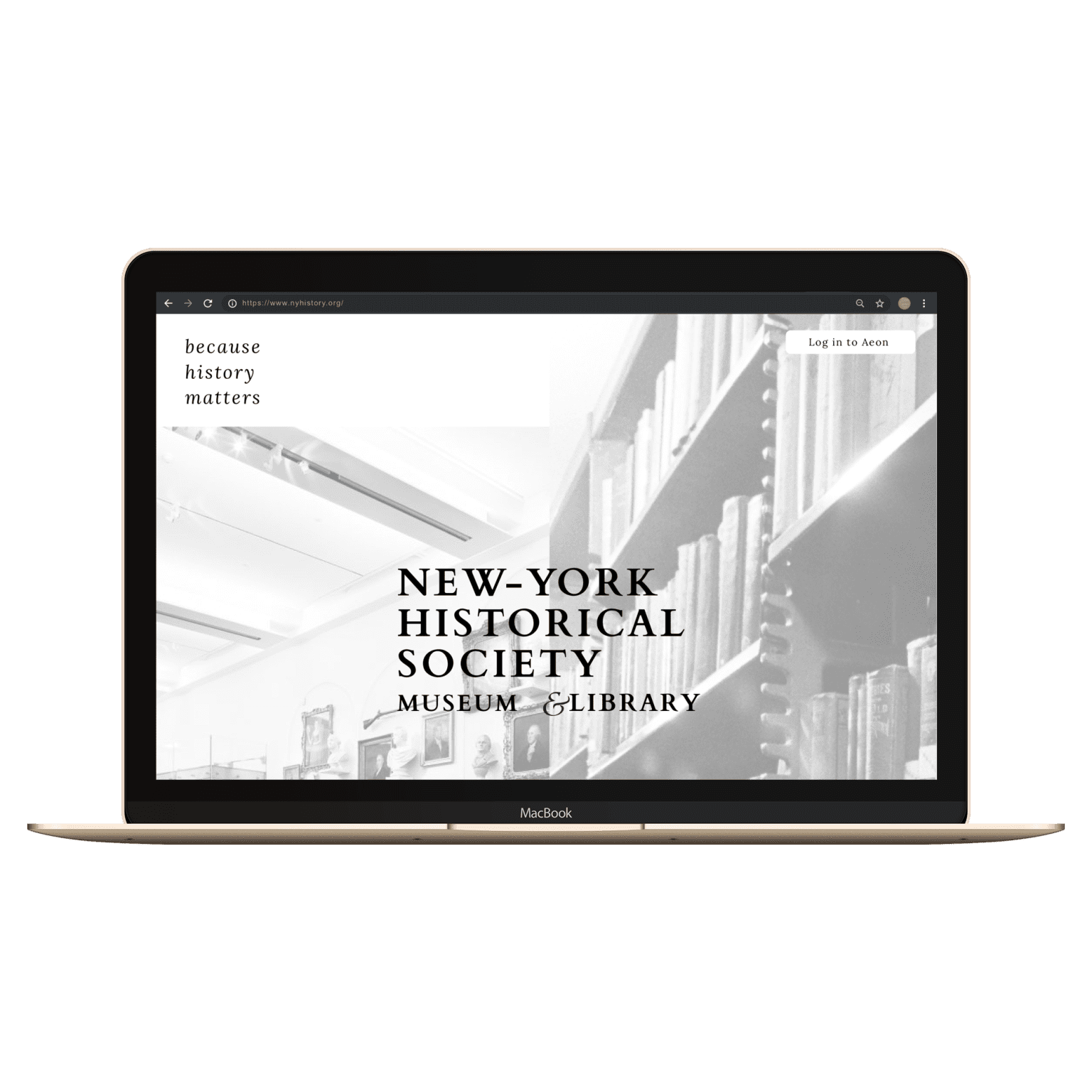 New York Historical Society : Museum & Library REDESIGN