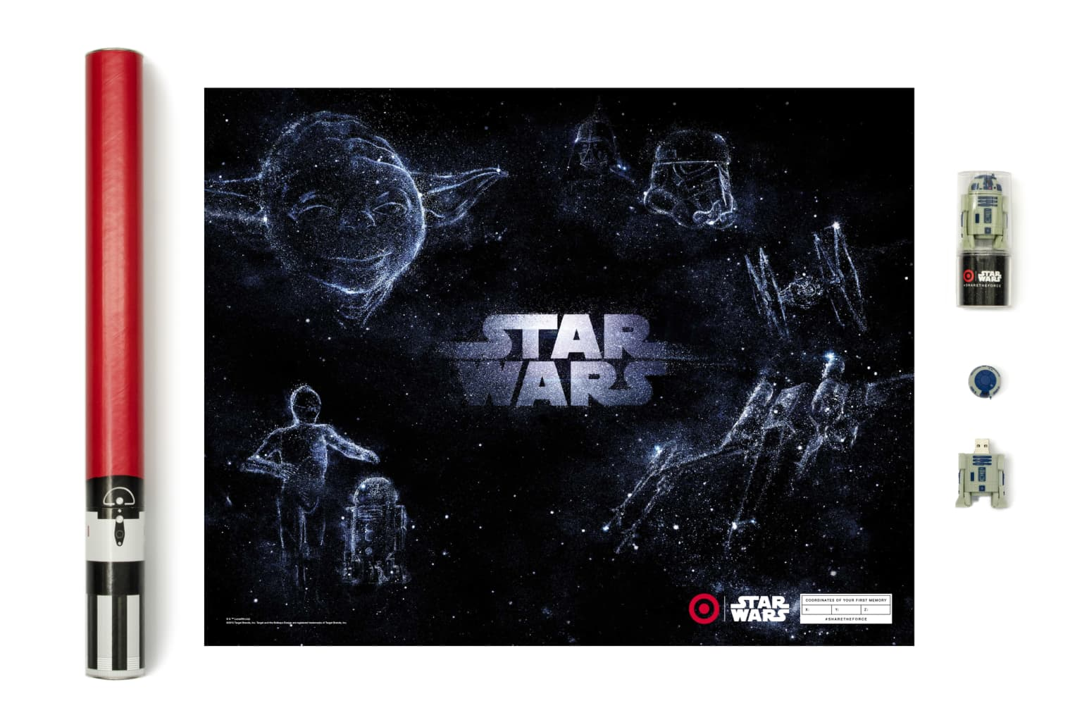Share the Force   Target & Star Wars