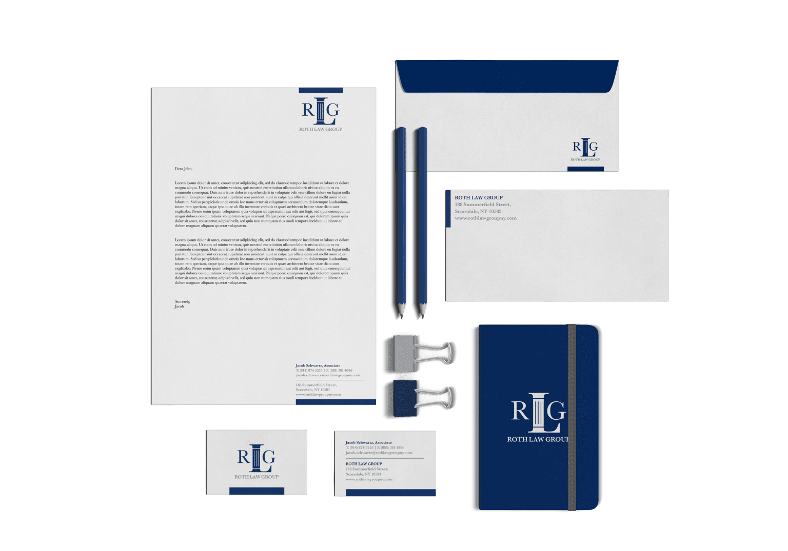 Roth Law Group - Rebrand
