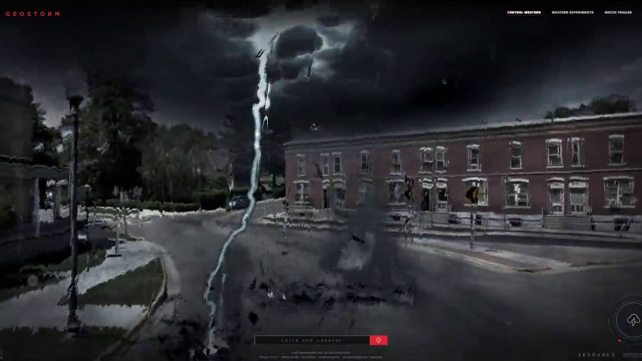 Control the Weather - Geostorm
