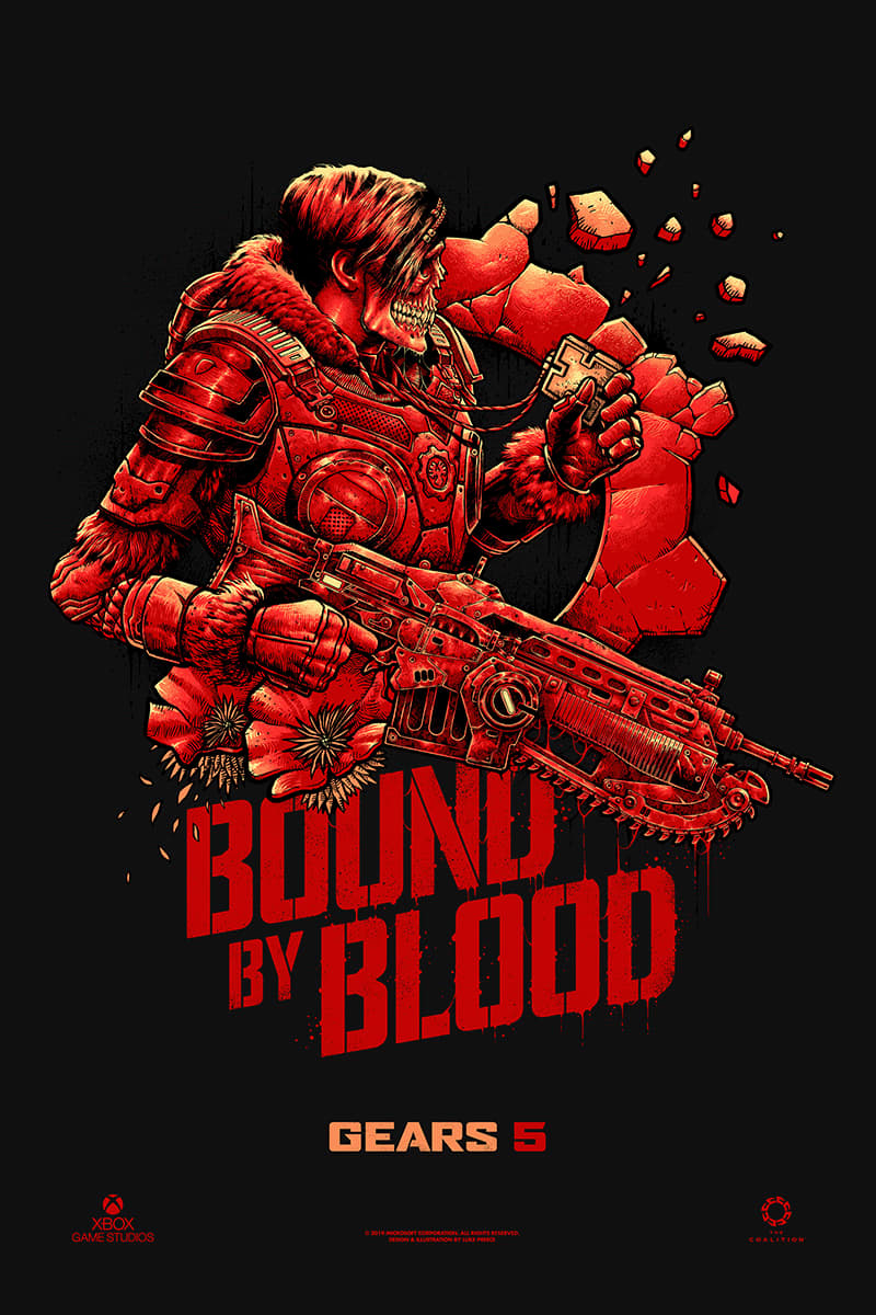 "Gears of War 5 Campaign, ""BOUND BY BLOOD"""