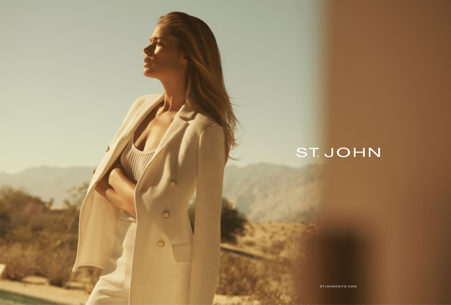 St. John Knits Spring '19 Campaign