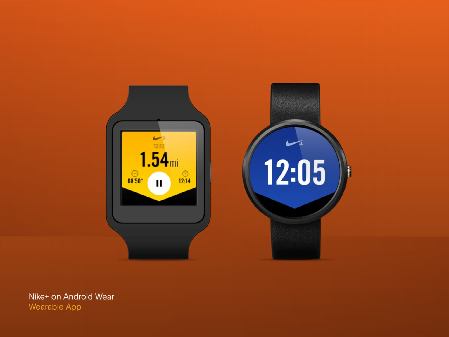 Nike+ on Android Wear