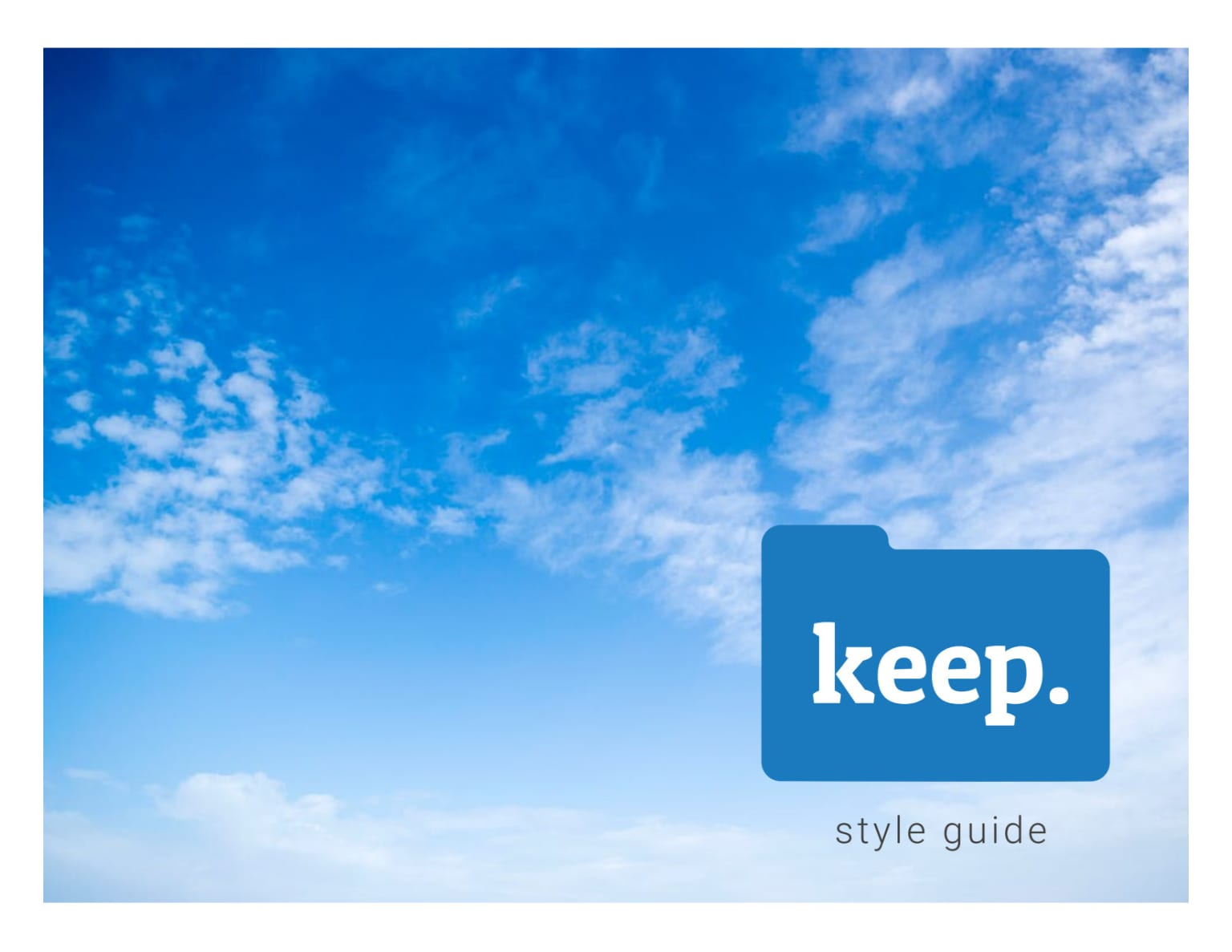 Keep Cloud Storage Website & App