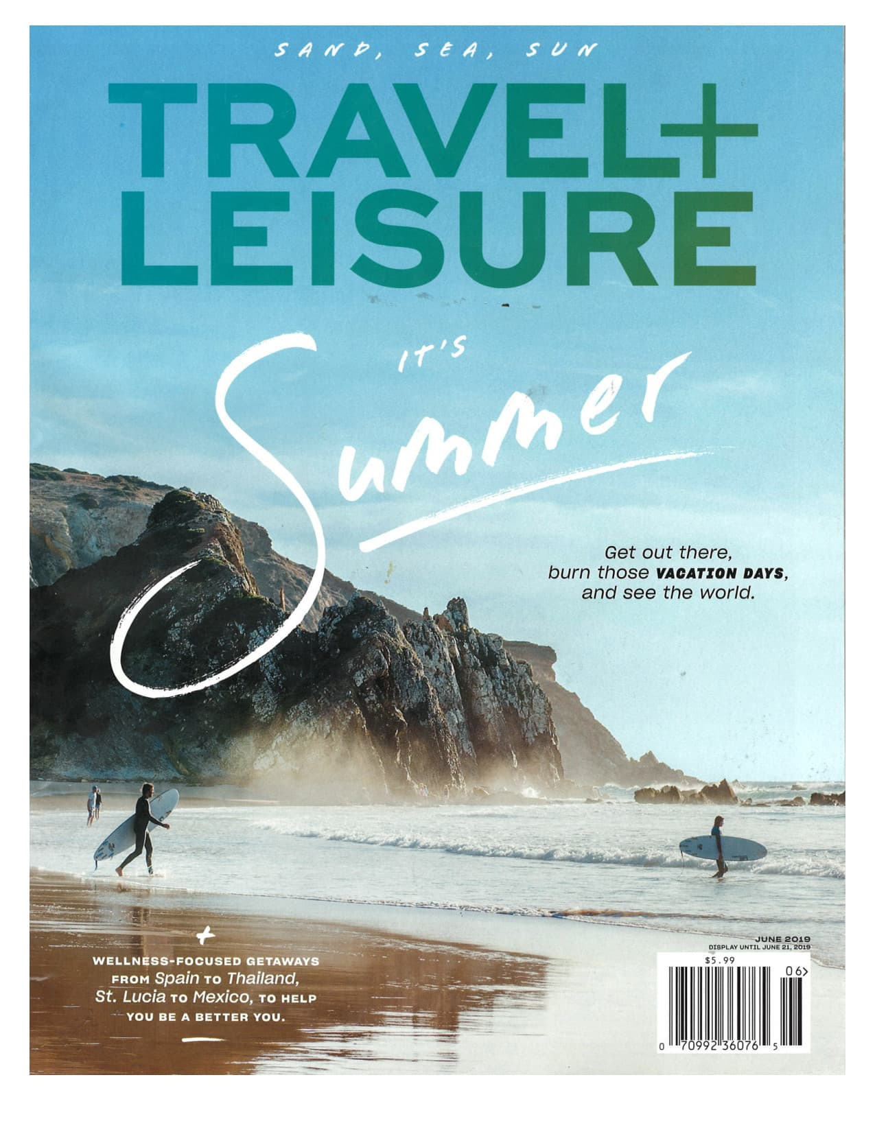 Feature Article for Travel and Leisure