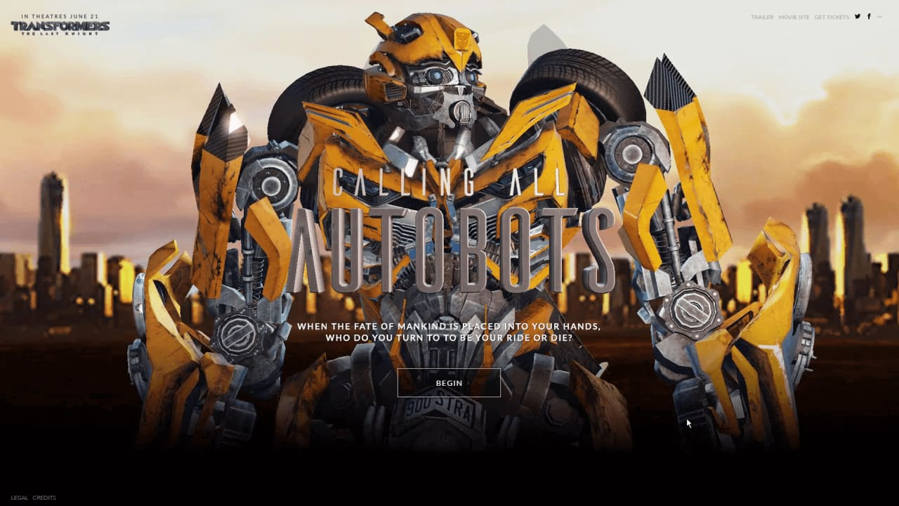 Transfomers - Calling All Autobots