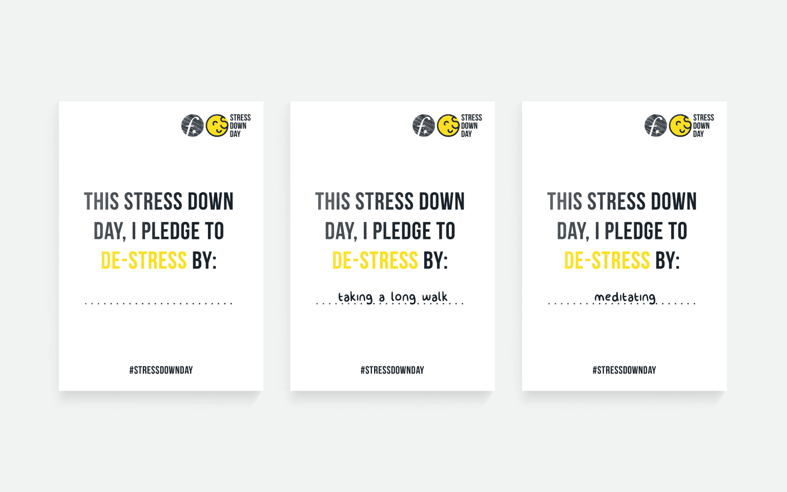 Identity for «Stress Down Day»