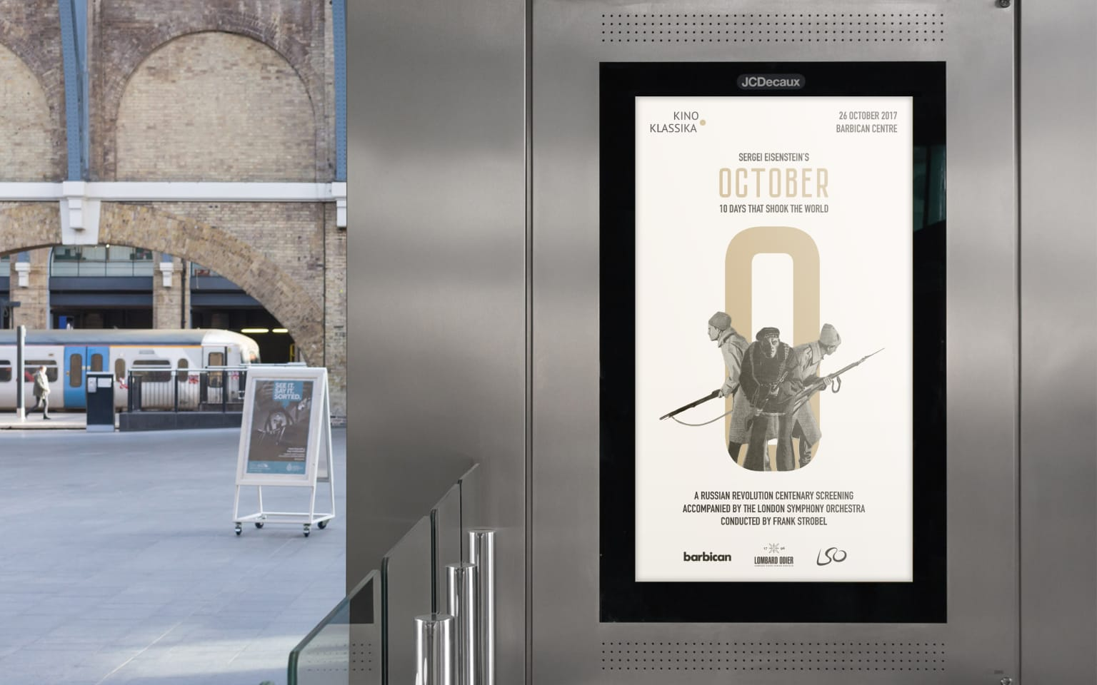 Identity for Gala Screening of «October: Ten Days That Shook The World»