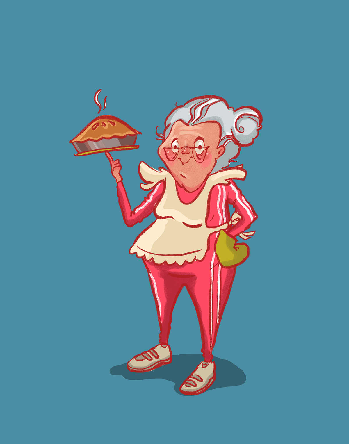 """""""Pass the Pie"""" Character Designs"""