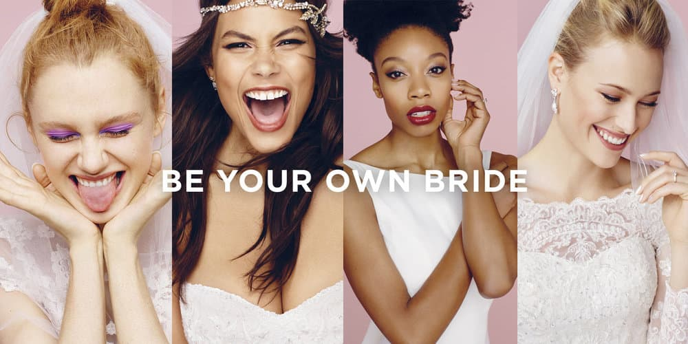David's Bridal : Be Your Own Bride
