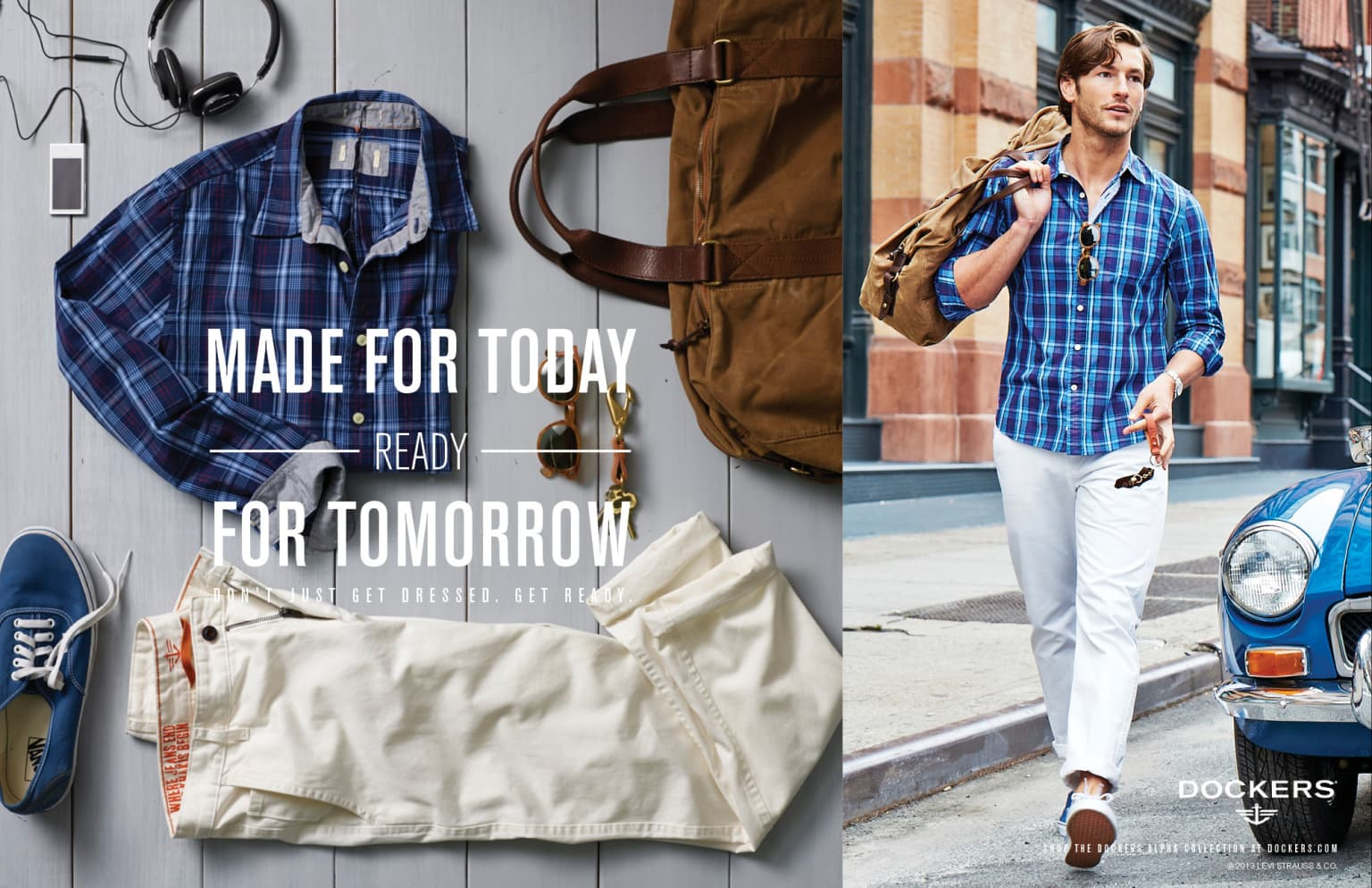 "Dockers ""Don't Just Get Dressed. Get Ready."""